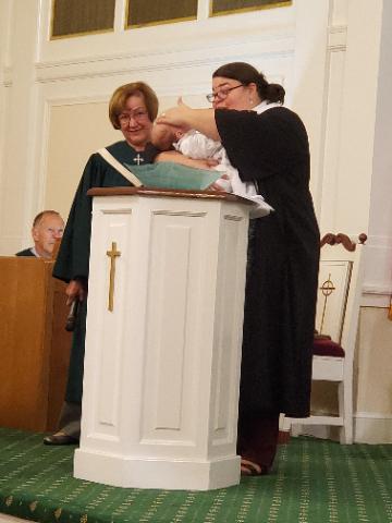 Baptism of Amelia 1